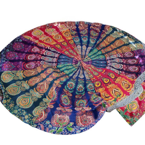 Round Mandala / Tablecloth, Beach Towel, Tapestry, Yoga Mat