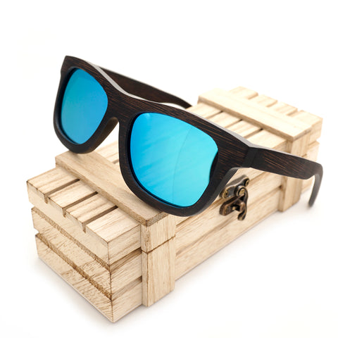 Handmade Nature Wooden Sunglasses R5