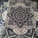 Wall Tapestry / Floral Mandala, Blanket,  Bedspread, Tablecloth, Towel, Yoga Mat
