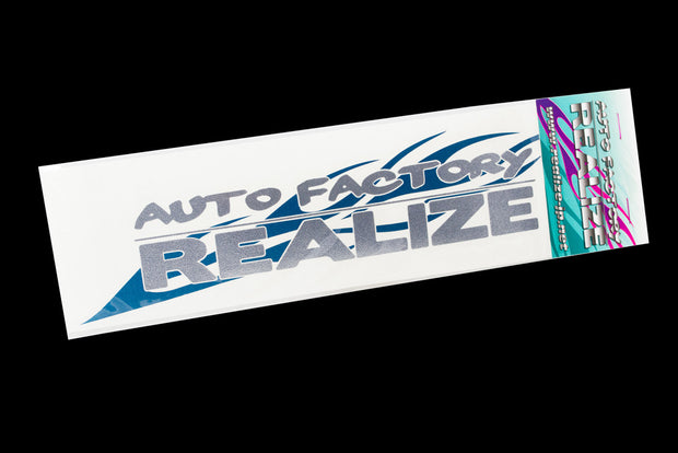 Realize Classic Teal Flame Die-Cut Decal