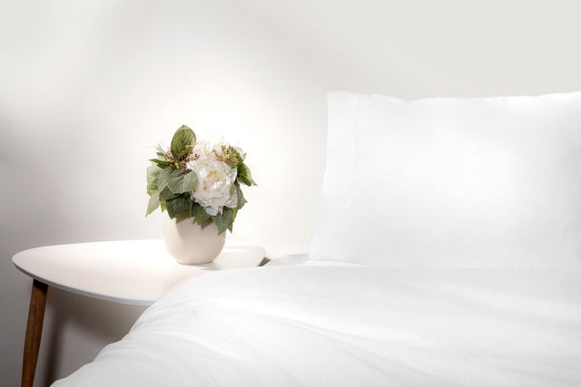 White Pearl Organic Cotton Sheet Set
