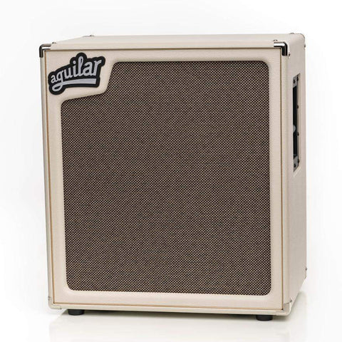 Aguilar SL 410x - 4x10 800W Neo Bass Cabinet 4 ohm Antique Ivory Ltd Edition , Amps, Aguilar, Texas Guitar Ranch - Texas Guitar Ranch