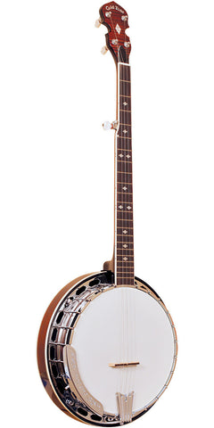 Gold Tone BG-250F Left-Handed Bluegrass Banjo with Flange , Folk, Gold Tone, Texas Guitar Ranch - Texas Guitar Ranch