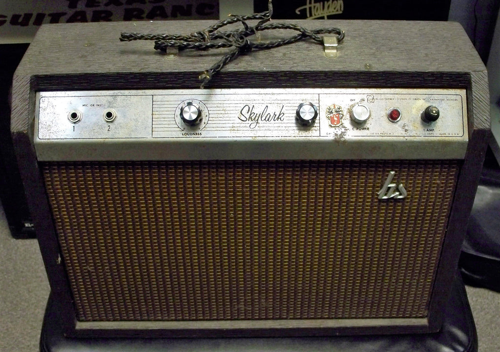 vintage 60 39 s gibson skylark ga 5 tube guitar amp texas guitar ranch. Black Bedroom Furniture Sets. Home Design Ideas