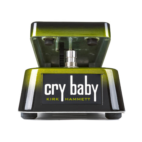 Dunlop KH95 Kirk Hammett Signature Cry Baby Wah Guitar Effects Pedal Black and Green , Pedals, Dunlop, Texas Guitar Ranch - Texas Guitar Ranch
