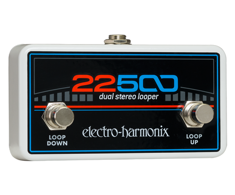 Electro-Harmonix 22500 Dual Stereo Looper Foot Controller FOOTSWITCH EHX Guitar Effects Pedal , Pedals, Electro-Harmonix, Texas Guitar Ranch - Texas Guitar Ranch