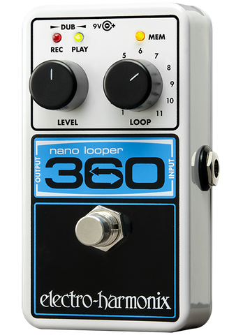 Electro-Harmonix 360 Nano Looper EHX Guitar Effects Pedal , Pedals, Electro-Harmonix, Texas Guitar Ranch - Texas Guitar Ranch