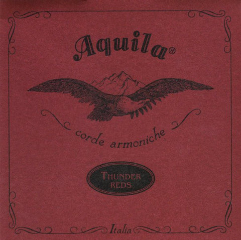 4-String Aquila Thunder Reds U-Bass Strings - Red , Aquila, Texas Guitar Ranch, Texas Guitar Ranch - Texas Guitar Ranch