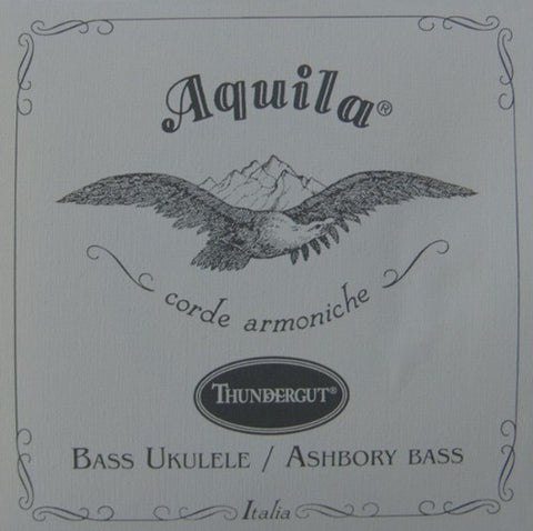 5-String Aquila Thundergut U-Bass Strings - White , Strings, Aquila, Texas Guitar Ranch - Texas Guitar Ranch