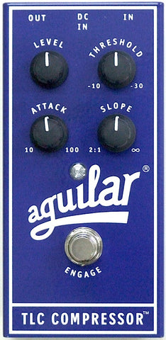Aguilar TLC Compressor Bass Effects Pedal , Pedals, Aguilar, Texas Guitar Ranch - Texas Guitar Ranch