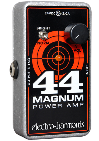 Electro-Harmonix 44 Magnum Power Amp Guitar Effects Pedal Sized Amplifier