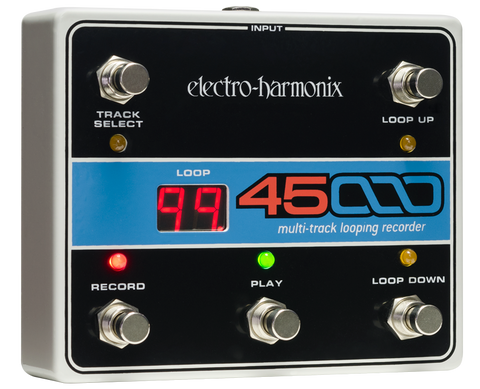 Electro-Harmonix 45000 Looper Foot Controller Footswitch Switch EHX Guitar Effects Pedal , Pedals, Electro-Harmonix, Texas Guitar Ranch - Texas Guitar Ranch