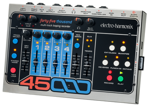 Electro-Harmonix 45000 Stereo Multi-Track Looping Recorder Looper EHX Guitar Effects Pedal , Pedals, Electro-Harmonix, Texas Guitar Ranch - Texas Guitar Ranch
