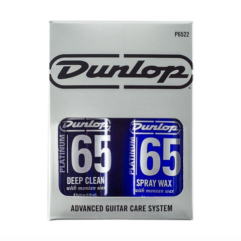 Dunlop Platinum 65 Deep Clean & Spray Wax System , Accessories, Dunlop, Texas Guitar Ranch - Texas Guitar Ranch