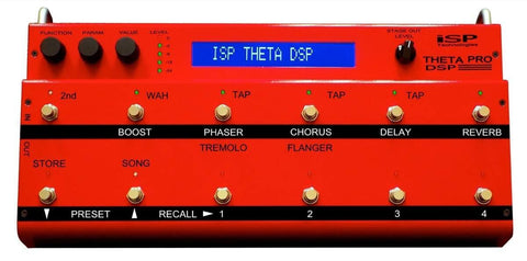 ISP Technologies Theta Pro DSP Preamp Pedal , Pedals, ISP, Texas Guitar Ranch - Texas Guitar Ranch