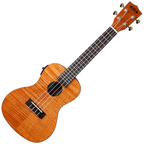 Kala KA-CEME Exotic Mahogany Concert Acoustic-Electric Ukulele with EQ