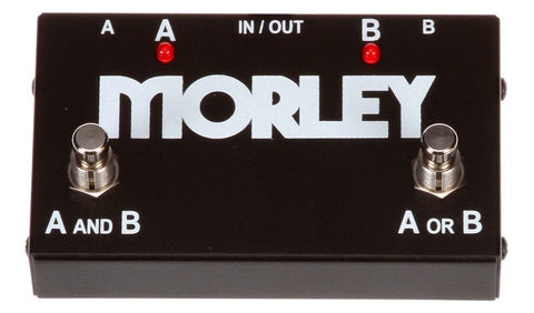 Morley ABY 2-Button ABY Signal Switcher Pedal , Pedals, Morley, Texas Guitar Ranch - Texas Guitar Ranch