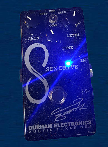Durham Electronics Sex Drive - 15th Anniversary Edition - Clean Boost Guitar Effects Pedal , Pedals, Durham Electronics, Texas Guitar Ranch - Texas Guitar Ranch