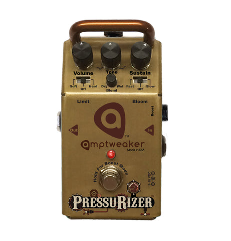 Amptweaker Pressurizer Sustain Guitar/Bass Effects Pedal , Pedals, Amptweaker, Texas Guitar Ranch - Texas Guitar Ranch