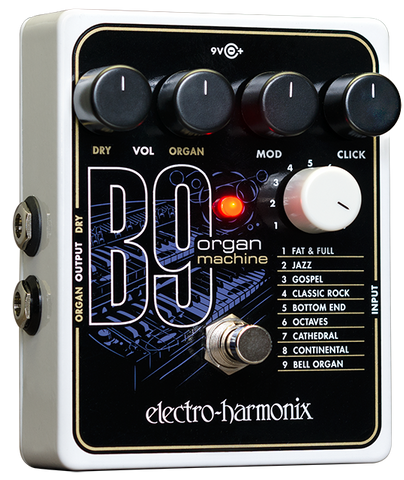 Electro Harmonix B9 Organ Machine EHX Guitar Effects Pedal