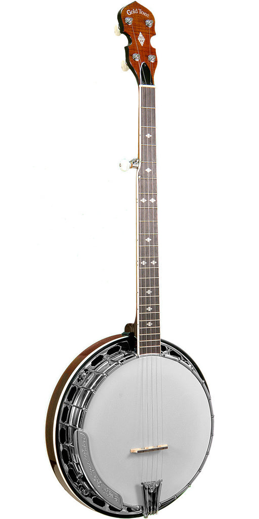 Gold Tone BG-250FW/L Left-Handed Bluegrass Banjo with Flange and Wide Neck