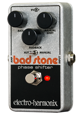Electro-Harmonix Bad Stone Phase Shifter Nano Guitar Effects Pedal , Pedals, Electro-Harmonix, Texas Guitar Ranch - Texas Guitar Ranch