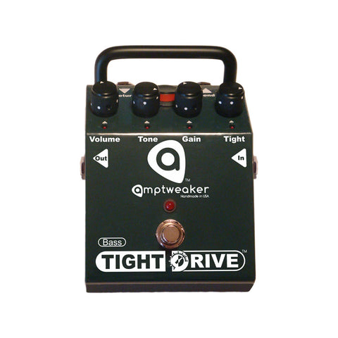 Amptweaker Bass Tight Drive Overdrive Bass Guitar Effects Pedal , Pedals, Amptweaker, Texas Guitar Ranch - Texas Guitar Ranch