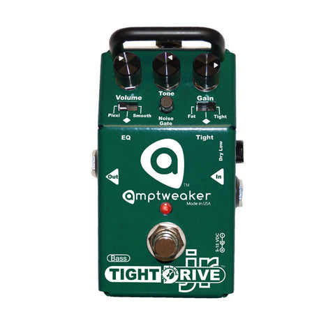 Amptweaker Bass Tight Drive Jr Overdrive Bass Guitar Effects Pedal , Pedals, Amptweaker, Texas Guitar Ranch - Texas Guitar Ranch