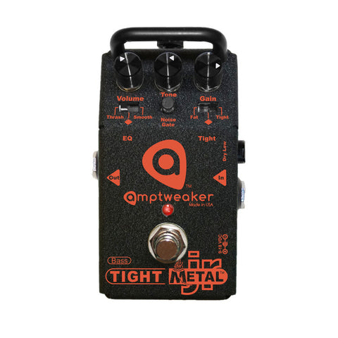 Amptweaker Bass Tight Metal Jr Distortion Bass Guitar Effects Pedal , Pedals, Amptweaker, Texas Guitar Ranch - Texas Guitar Ranch