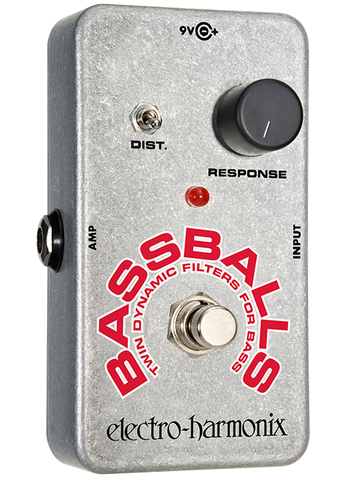 Electro-Harmonix Bassballs Twin Dynamic Envelope Filter Bass Guitar Effects Pedal , Pedals, Electro-Harmonix, Texas Guitar Ranch - Texas Guitar Ranch