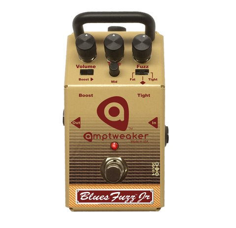 Amptweaker BluesFuzz Jr Blues Fuzz Jr Guitar Effects Pedal , Pedals, Amptweaker, Texas Guitar Ranch - Texas Guitar Ranch
