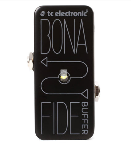 TC Electronic BonaFide Mini Buffer Guitar Effects Pedal , Pedals, TC Electronic, Texas Guitar Ranch - Texas Guitar Ranch