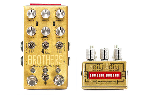 Chase Bliss Brothers Analog Gainstage Guitar Effects Pedal , Pedals, Chase Bliss, Texas Guitar Ranch - Texas Guitar Ranch