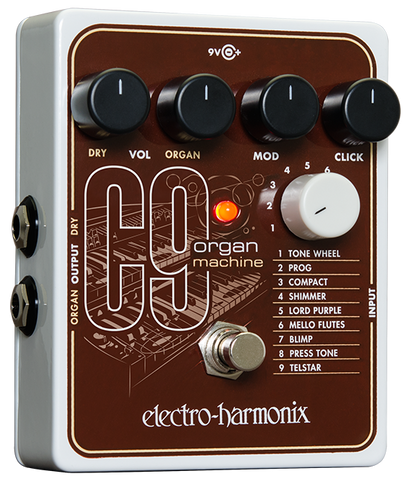Electro-Harmonix C9 Organ Machine EHX Guitar Effects Pedal , Pedals, Electro-Harmonix, Texas Guitar Ranch - Texas Guitar Ranch