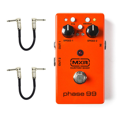 MXR CSP099 Phase 99 with Free Patch Cables , Pedals, MXR, Texas Guitar Ranch - Texas Guitar Ranch
