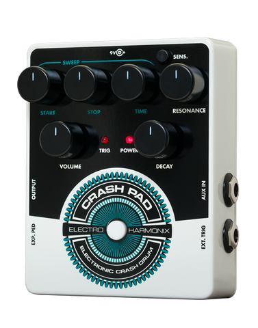 Electro-Harmonix Crash Pad Electronic Crash Drum EHX Guitar Effects Pedal , Pedals, Electro-Harmonix, Texas Guitar Ranch - Texas Guitar Ranch