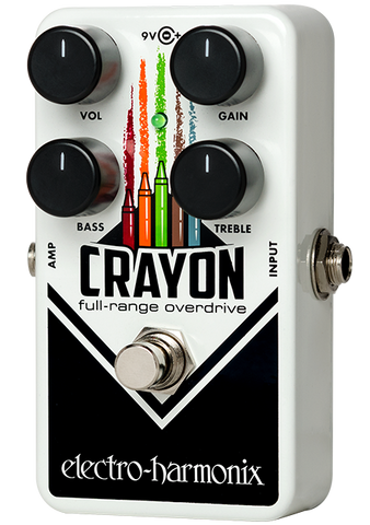 Electro-Harmonix Crayon 69 Full Range Overdrive EHX Guitar Effects Pedal , Pedals, Electro-Harmonix, Texas Guitar Ranch - Texas Guitar Ranch