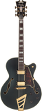 D'Angelico Deluxe DH Hollow Body Electric Guitar - Matte Midnight , Guitars, D'Angelico, Texas Guitar Ranch - Texas Guitar Ranch