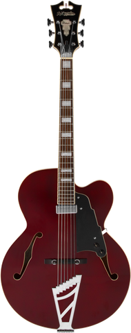 D'Angelico Premier EXL-1 Hollow Body Electric Guitar - Trans Wine , Guitars, D'Angelico, Texas Guitar Ranch - Texas Guitar Ranch