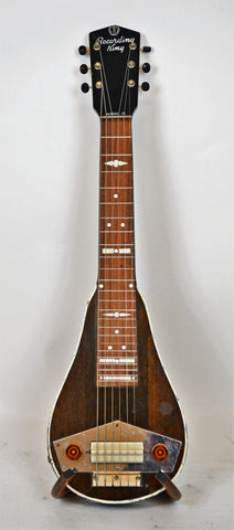 "Vintage 1940's Recording King ""Model D"" lap steel guitar, used , Guitars, Recording King, Texas Guitar Ranch - Texas Guitar Ranch"