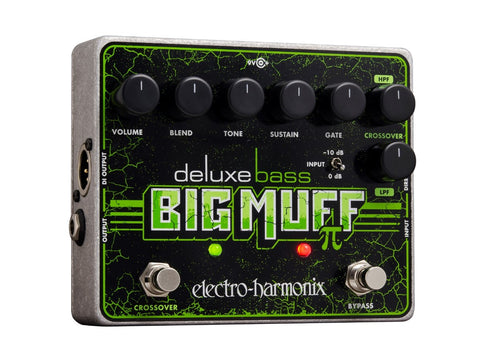 Electro-Harmonix Deluxe Bass Big Muff Pi Distortion Sustainer Bass Guitar Effects Pedal