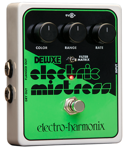 Electro-Harmonix Deluxe Electric Mistress XO Flanger EHX Guitar Effects Pedal , Pedals, Electro-Harmonix, Texas Guitar Ranch - Texas Guitar Ranch