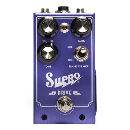 Supro Drive Guitar Effects Pedal 1305