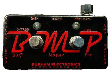 Durham Electronics Buff Master Pre Guitar Effects Pedal , Pedals, Durham Electronics, Texas Guitar Ranch - Texas Guitar Ranch