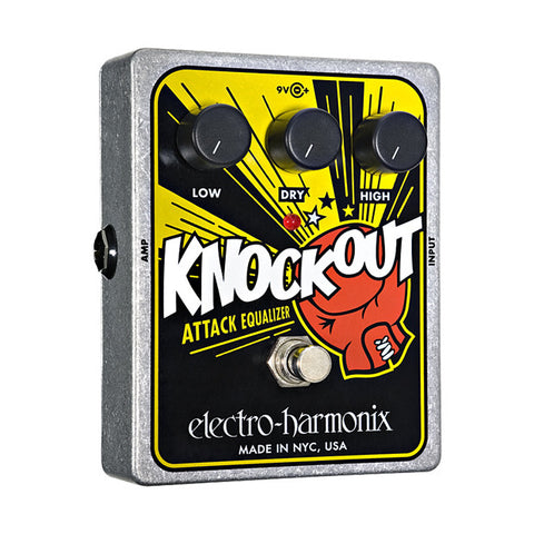 Electro-Harmonix Knockout Attack Equalizer Reissue Guitar Effects Pedal , Pedals, Electro-Harmonix, Texas Guitar Ranch - Texas Guitar Ranch