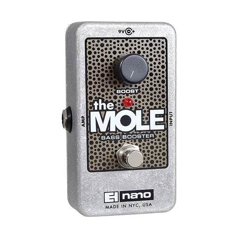Electro-Harmonix The Mole Bass Booster Effect Pedal , Pedals, Electro-Harmonix, Texas Guitar Ranch - Texas Guitar Ranch