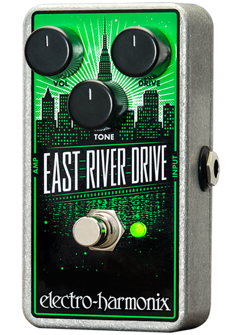 Electro-Harmonix East River Drive Overdrive EHX Guitar Effects Pedal , Pedals, Electro-Harmonix, Texas Guitar Ranch - Texas Guitar Ranch