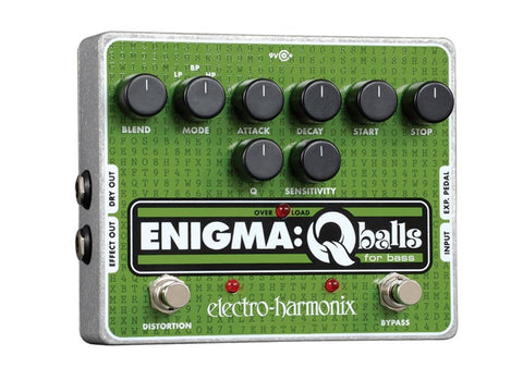 Electro-Harmonix Enigma Q-Balls Envelope Filter for Bass EHX Guitar Effects Pedal , Pedals, Electro-Harmonix, Texas Guitar Ranch - Texas Guitar Ranch