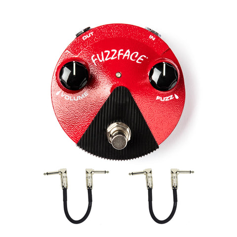 Dunlop FFM2 Germanium Fuzz Face Mini with Free Patch Cables , Pedals, Dunlop, Texas Guitar Ranch - Texas Guitar Ranch