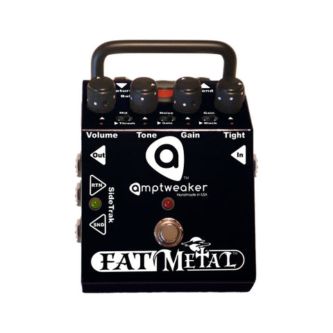 Amptweaker Fat Metal Distortion Guitar Effects Pedal , Pedals, Amptweaker, Texas Guitar Ranch - Texas Guitar Ranch